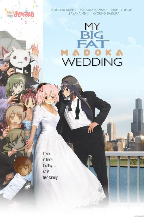 045 - My Big Fat Madoka Wedding Poster