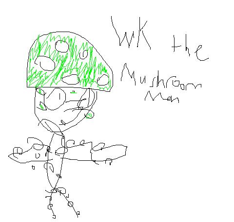 wk the mushroom man