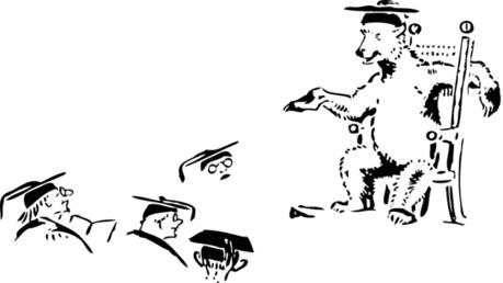 [Clipart 021] Teacher is a Bear